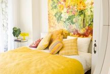 Mellow Yellow / Such a happy and sunny color...yellow.