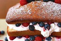 Sweet Treats / Desserts / by Julie Van De Wyngaerde