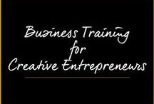 Business Training For Creative Entrepreneurs / by Melanie Duncan