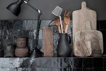 new black kitchen / Ideensammlung für unsere neue Küche