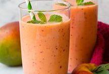 Fruit Smoothie Ideas Shared by Shop Fruit Baskets / Fruit smoothies by Shop Fruit Baskets. http://shopfruitbaskets.com/