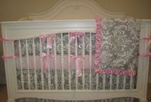Custom Baby Bedding / Create the nursery of your dreams with our custom bedding options. www.royalbambino.com