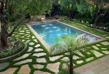 Beautiful Pools / The standard above ground pool still exists, but there are now many new designs. The number of unique designs are truly unbelievable! Who wouldn't want to take a dip in a fabulous pool? Refreshing, relaxing and amazing! Please check out our gallery of pools. You may want to swim after you see these pictures!  #beautiful pools #pool #realestate