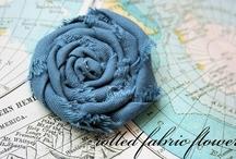 Craft - Fabric flowers