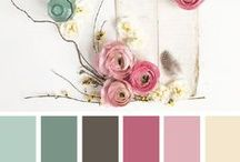 Colour palettes / Collection of colour palettes that I love.