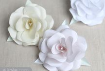 Paper flowers / Flowers made from paper