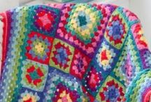 Crochet - Blankets & blocks / Crochet blanket ideas and blocks - free and paid patterns and some just inspiration.