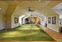 "Beautiful Man Caves / The term man cave implies there is a area separate from the rest of the house where the male of the home can go to escape and enjoy himself. Typical activities: playing poker or pool, watching sports or a movie or just hanging out. Take a peek at some ""beautiful man caves.""  #mancave #beautifulmancave"