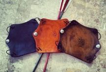 Arm Guard Gallery / A collection of Custom Arm Guards crafted by Rasher Quivers http://rasherquivers.com/arm-guards/