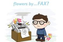 Flowers by....... / Alternative methods of flower delivery.