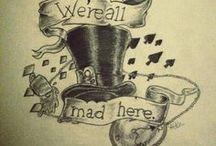 Alice in wonderland tattoo / Alice in Wonderland Tattoo inspirations