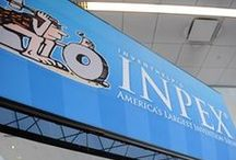 InventHelp's INPEX / InventHelp® Presents INPEX® - The Invention & New Product Exposition  INPEX, the Invention & New Product Exposition, is America's largest invention trade show. INPEX provides a forum for inventors to exhibit their inventions and attempt to make contacts with companies interested in licensing, marketing or manufacturing new products. / by InventHelp