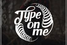 TYPEON.ME / Only one word can change everything. We created our brand #TYPEONME to motivate people to be themselves and never give up. We makes your dreams come true.  We specialize in typography, lettering, digital art, tattoo and web design. Contacts: sendtypeonme@gmail.com