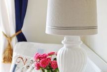 Lamps, Lampshades and Lighting / Beautiful lamps, and shades, made and crafted.