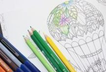 Colouring pages - printable / A collection of free printable adult colouring pages.