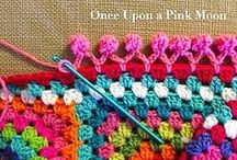 Crochet - Borders & Joins / Borders for blankets and projects