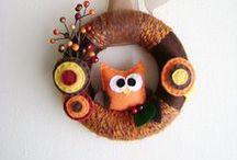 Crochet - Bunting & Wreaths / Bunting, garlands, hangings & wreaths all in crochet