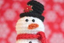 Crochet - Christmas / Christmas theme crochet patterns and inspirations