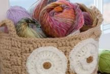 Crochet - Baskets & Containers / Crochet patterns for baskets, containers and boxes