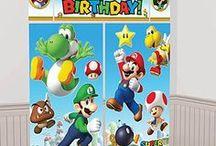 Super Mario Birthday Ideas / Ideas for a Super Mario Themed Party