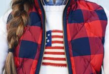 America / US decorations and clothes