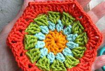 Crochet hexagons / Crochet hexagons patterns, ideas and charts