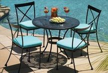 Outdoor Furniture Inspiration / Outdoor Elegance takes pride in selling only the most luxurious lines of Outdoor Furniture. Our passion for bringing the California lifestyle to every customers outdoor space is unmatched in the Southern California area.  / by Outdoor Elegance