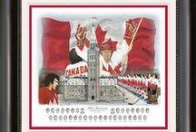 Team Canada '72 Art / Heritage Hockey Team Canada '72 Art available here: https://www.heritagehockey.com/prints/team-canada.html