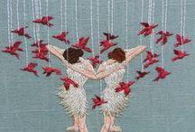 I DO embroidery / #embroidery Nos encanta #bordar!