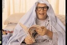 Celebrities Caught Reading