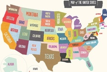 These Awesome United States / by Beverly Powell