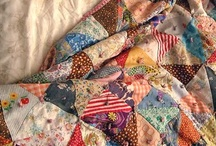 quilting / by kat
