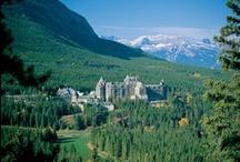 Best Hotels in Banff Alberta / Best Hotels in Banff Alberta chosen by the UWH Staff!! #Hotels include: Swissotel Zurich, Delta Banff Royal Canadian Lodge, Buffalo Mountain Lodge,  Rimrock Resort Hotel