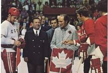 Random '72 / Random Images from the 1972 Summit Series, Team Canada vs. Russia.