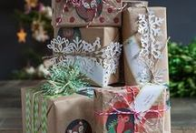 Gift Wrapping Ideas / I'm always looking for some new ideas for gift wrapping, especially with Christmas wrapping.