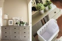 Homes: Organization / Keep your home organized and reduce clutter while not sacrificing decor and style.