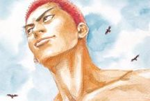 Slam Dunk: Manga Covers / A collection of my favourite covers from Slam Dunk