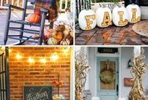 Fall / Activities, decor and all things autumn and fall!