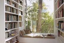 Window seats & book shelves / by Tara Austen Weaver