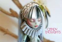 Art Dolls, Barbie,.Monster high, Blythe , and other dolls ..... / by Phyllis Elliott