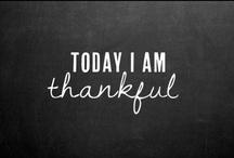 gratitude. / by Lea