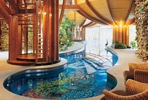 Spectacular Swimming pools / by Hayley Elizabeth Designs