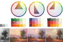 Colour Theories / Color theories & principles for art and design.