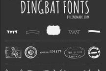 Fonts, Dingbats & stuff