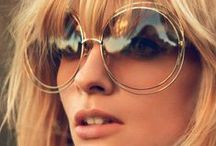 Sunglasses / ... are like eyeshadow. They make everything look younger and prettier.