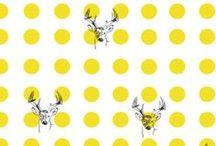 The Bartl Studio / Tablero dedicado a mi colega Cristina Bartl, diseñadora de moda y estampados.  http://thebartlstudio.com / by Iria Botana