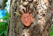Nature Crafts / Nature crafts using found natural objects and crafts mimicking nature
