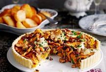 Tarts, Quiches and Pies / Vegetarian Tarts, Quiches and Pies!