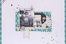 scrapbooking /  Des idées, de l'inspiration des sujets. / by Sylviane Mathey