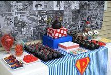 Superman Birthday Ideas / by Gina Mckinney Schlesinger
